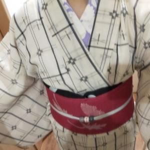 普段着の絹芭蕉