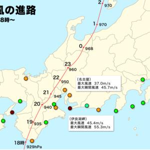 伊勢湾台風を振り返る (1959年(昭和34年) 9月26~27日 )