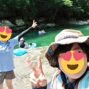 灼熱の夏に…川遊び女子ツーリング☆