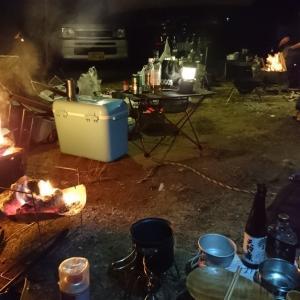笠置キャンプ場で極寒の冬キャン☆