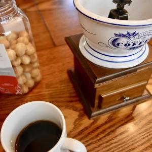 20周年 + 挽きたてコーヒー