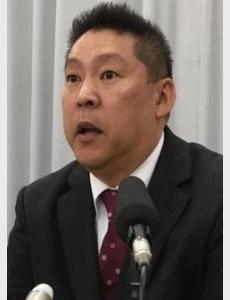N国・立花氏、参院補選中に市長選出馬表明