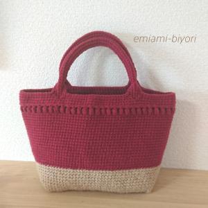 【新作】秋色トートバッグ