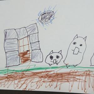 【子どもの遊び】お絵描きは苦手?