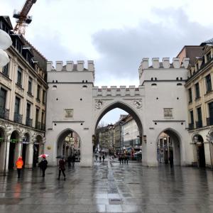 ミュンヘンの街散策♬