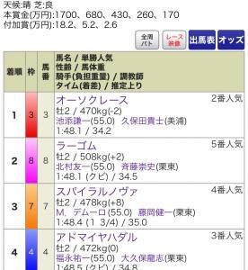 輝けオーソクレース〜アイビーS〜
