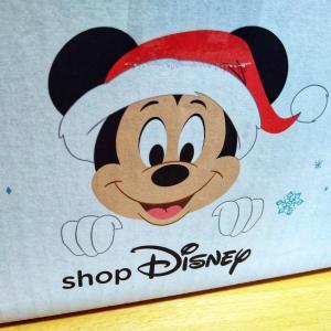 クリスマス使用のShop Disney便
