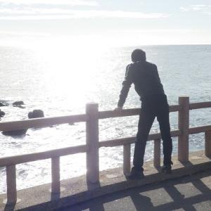 初崎海岸のシーグラスがちょっと大変