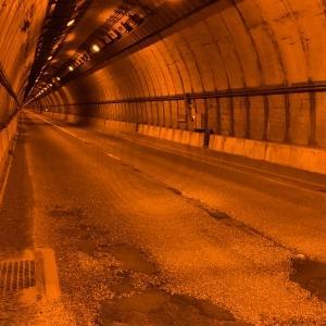 日本横断!自転車旅! 4日目? 三国トンネル入り口から越後湯沢駅