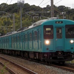 2019年10月13日国鉄105系電車