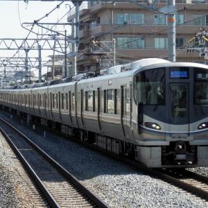 2019年10月15日JR西日本225系100番台電車