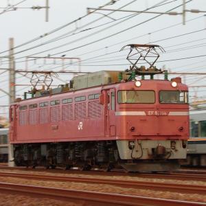 2020年06月23日国鉄EF81形電気機関車