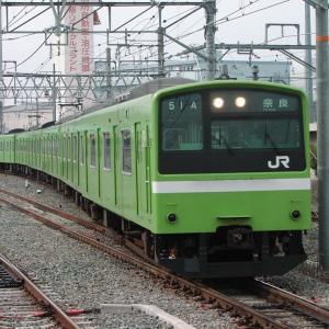 2020年07月13日国鉄201系電車