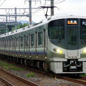 2020年10月21日JR西日本225系5100番台電車
