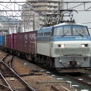 2021年01月19日国鉄EF66形100番台電気機関車