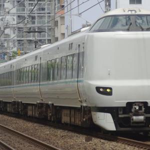 2021年07月08日JR西日本287系電車