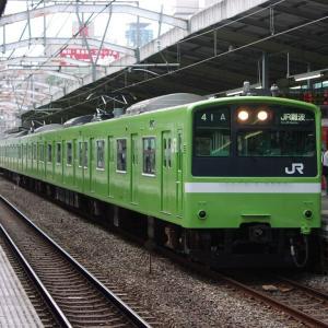 2021年09月16日国鉄201系電車