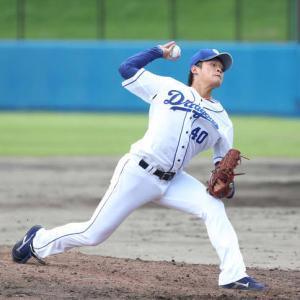 肘手術の中日石川翔「いかにサボるか」松坂から金言