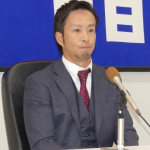 中日福田が契約更改 1000万円ダウンの5500万円でサイン