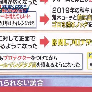 中日京田、股間に着用するファールカップは大サイズのものを使用