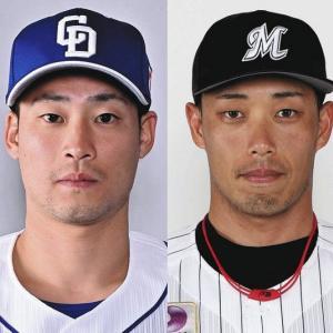 中日・加藤匠馬捕手とロッテ・加藤翔平外野手の交換トレードが成立