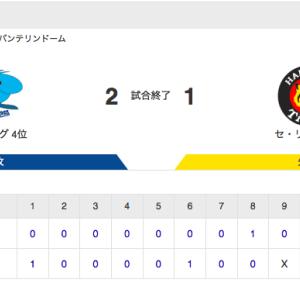 【試合結果】中日 2-1 阪神 ビシエドと木下のタイムリーの2点を守りきり連敗ストップ!松葉が6回無失点で今季5勝目!!!