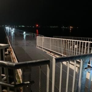 豊浜釣り桟橋は若干綺麗になってるよ♪。