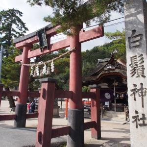滋賀県をぶらぶらと・白鬚神社