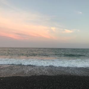 寄り道して海を見る