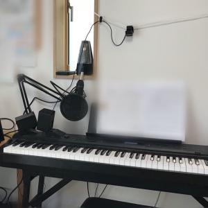 リトミックもピアノレッスンもオンライン