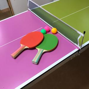 お家で卓球♪【夏休みをお家で楽しむ作戦その③】
