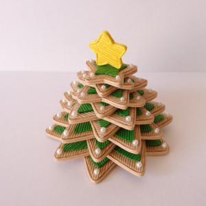 [378]  アイシングクッキーのクリスマスツリー