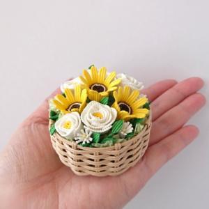 [480]  向日葵の花かご