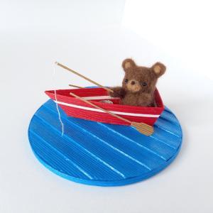 [541] 釣り中♪くまちゃん・赤