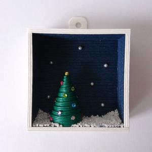 [551] 聖夜の壁掛け・クリスマスツリー