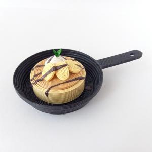 [562] スキレットパンケーキ・チョコバナナ