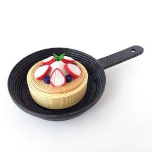 [563] スキレットパンケーキ・イチゴ