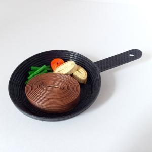 [567] スキレット料理・ハンバーグ