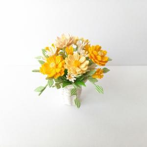 [570] フラワーアレンジ・イエロー