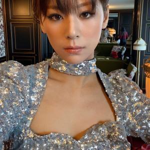 【170cm】西内まりやちゃん、胸元あらわのドレス姿 長い美脚が映えるミニスカ♥