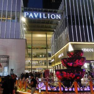 クアラルンプール旅行記 -やっぱり豪華なショッピングモール(PAVILION)-