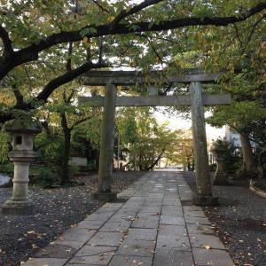 ⑥南側に護国神社がある賃貸マンション