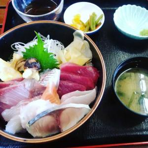 大野亀かんぞう&海鮮丼(*´ω`*)