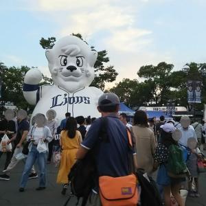 メットライフドーム・埼玉西武ライオンズ戦 2018年9月