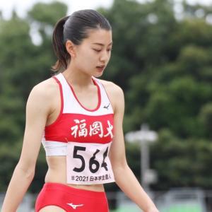 【陸上】福岡大・高島真織子 バレー仕込みの跳躍力と174cmの高身長で狙う三段跳び学生新記録