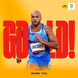 【速報】ジェイコブズ(伊)が陸上・男子100m優勝!9秒80=欧州新