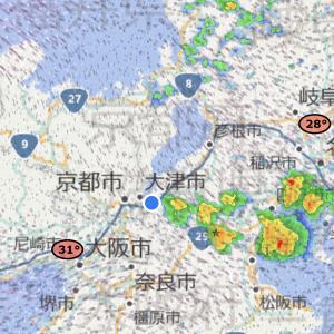 関西ビワイチ前日に梅雨明け
