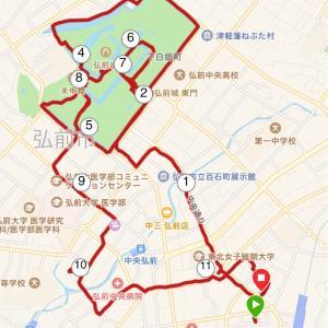 弘前城ラン。教養の無い私が歴史に触れるすばらしいジョギング