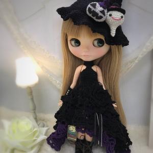 【出品情報】ハロウィンのドレスセット col.Halloween purple
