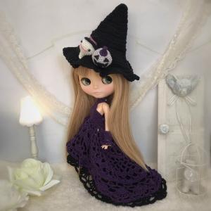 【出品情報】ハロウィンのドレスセット   col. Halloween purple
